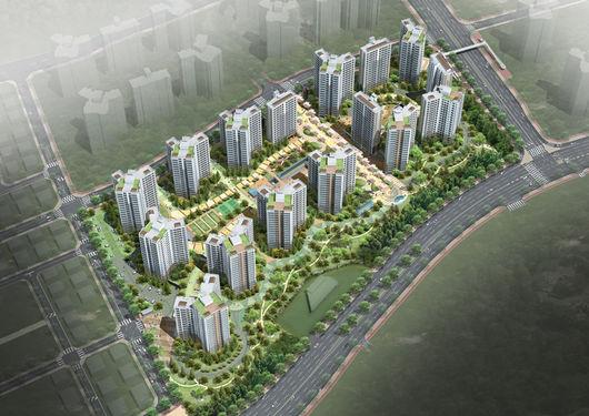 [평택용이2차 푸르지오①규모]대우건설, 평택 용이지구에 931세대 공급