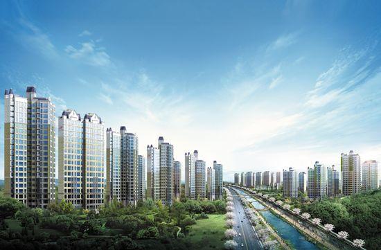 [용인 성복 힐스테이트①규모]현대건설, 용인 성복동에 '힐스테이트' 2157가구 분양
