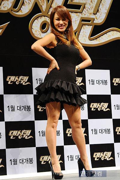 '댄싱퀸'  엄정화, S라인은 어디로? 충격적인 몸매