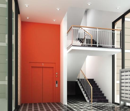 'e 편한세상 평택'에 적용된 오렌지 로비