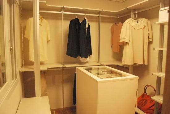 전용 84A/B㎡에 마련된 드레스룸.