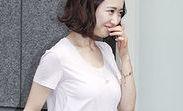 김민정, 티셔츠 한장에 '볼륨감' 남달라