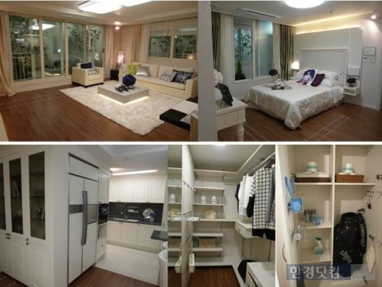 래미안 수지 이스트파크 98㎡D형 내부 및 수납공간