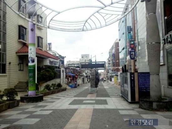 차없는 거리로 조성된 바오젠거리의 모습