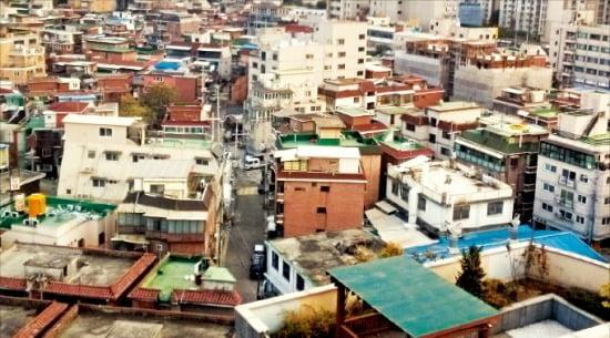 서울에서 다세대주택과 연립주택이 밀집한 당산동 일대. (자료 한경DB)
