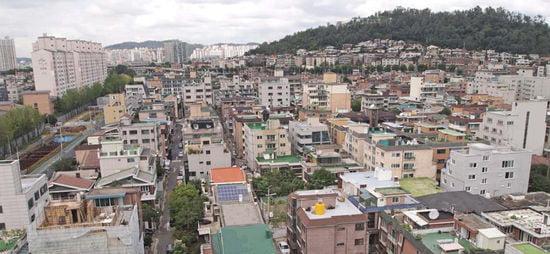 서울 연남동 다세대주택 밀집지역(자료 한경DB)
