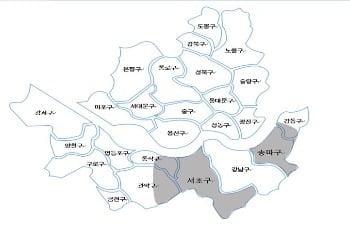 서초+송파+,강동주요대로변(역세권)의 오피스
