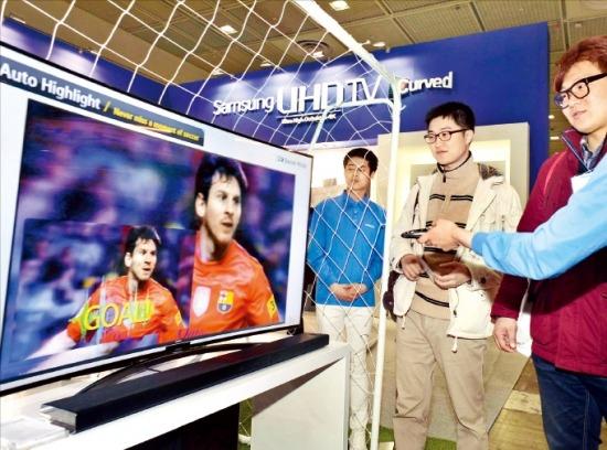 '커브드 TV' 전쟁, 휘는 기술 어떻게 다르지? | | 한경닷컴