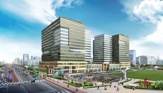문정동 현대엔지니어링 지식산업센터, 테라타워 투시도