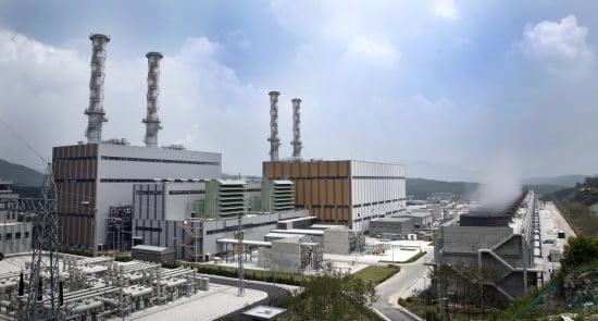 대림산업이 시공한 포천복합화력발전소 전경.