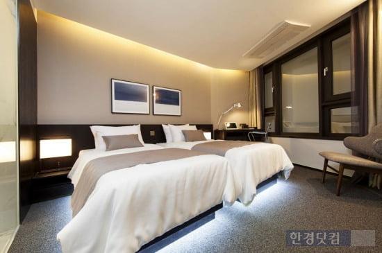 힐스테이트에코 마곡나루역 내 '라마다 앙코르 서울 마곡' 호텔 내부