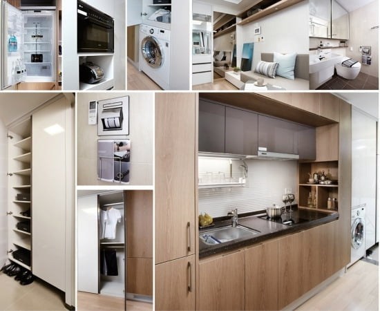 ▲ 모델(샘플)하우스 실내 사진 / 사진제공=현대건설