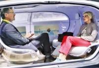 운전대와 등진 자율주행車…'굿바이 핸들'