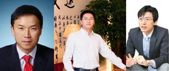 <좌측부터: 조용준 센터장, 동광양 애널리스트, 조완제 팀장>