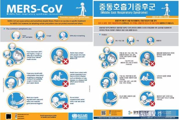 메르스 예방법 / 메르스 예방법 사진=질병관리본부·보건복지부·세계보건기구