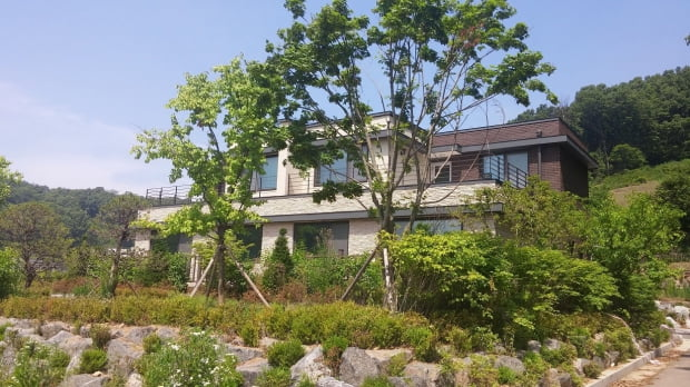 단지 내 서해그랑블 '김포수안마을' 샘플하우스 전경 / 사진제공=서해종합건설