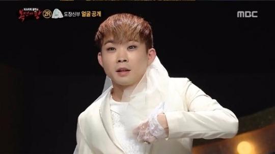 '복면가왕'에 출연한 백청강. 사진=해당 방송 캡처