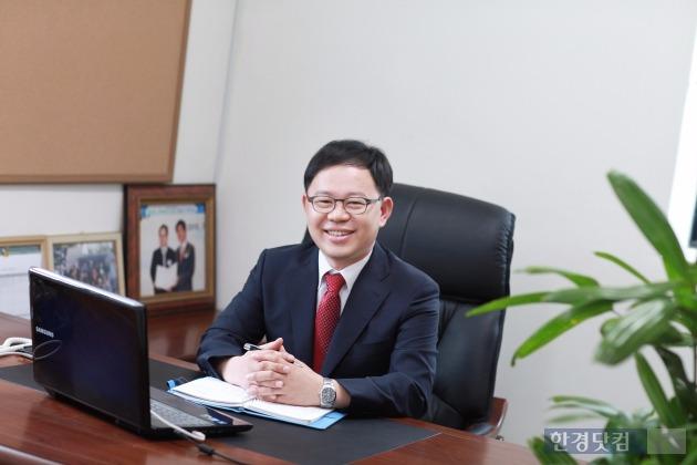 유봉근 유테크 대표(42).