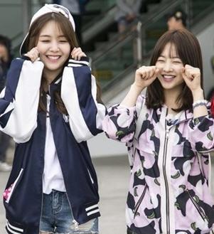 박보영 민아 / 사진=KBS 2TV '1박 2일'
