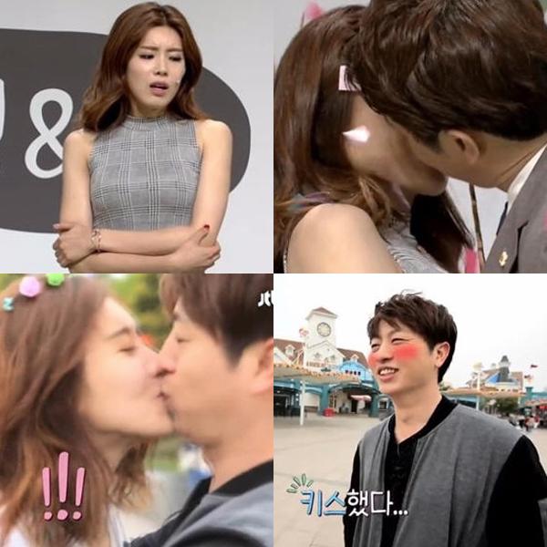 장도연-유상무 / 사진 위쪽은  tvN '코미디빅리그', 아래쪽은 JTBC '5일간의 썸머'