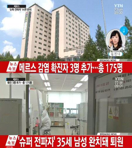 강동성심병원 외래·입원 중단 강동성심병원 외래·입원 중단 / YTN 방송 캡처