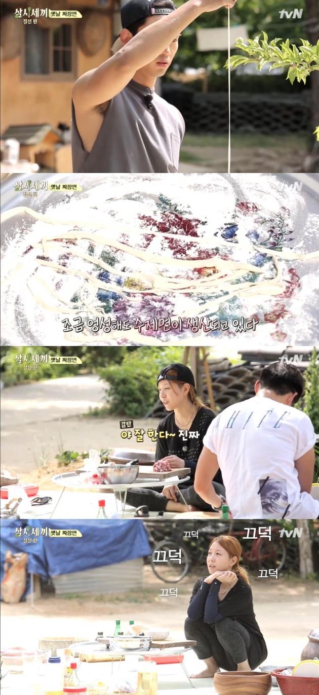 삼시세끼 보아 택연 / 삼시세끼 보아 택연 사진=tvN 방송 캡처