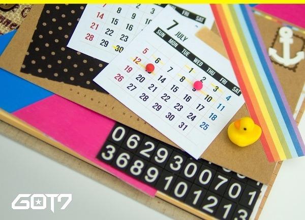 갓세븐 7월 13일 컴백 / 사진 = JYP엔터테인먼트