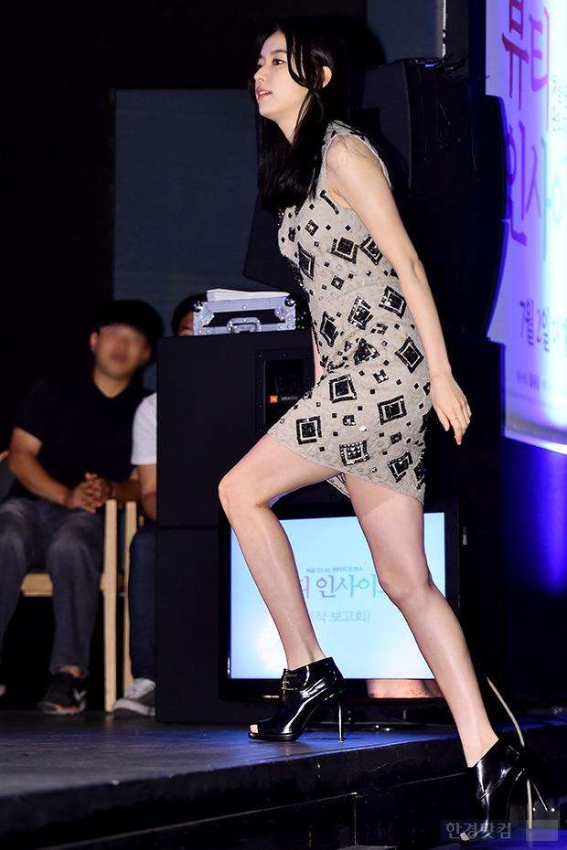 ▶한효주, '초미니 원피스 입고 과감한 발걸음'