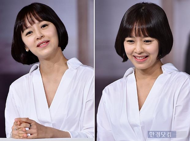 ↑강성연, '아이 엄마라 믿기 힘든 동안 미모 과시'