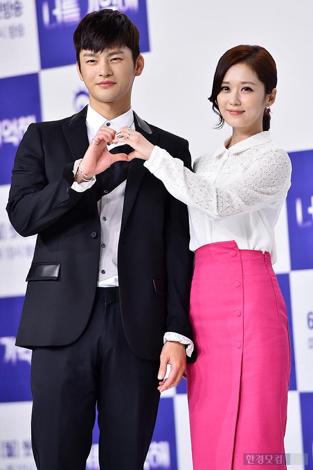 ↑서인국-장나라, '똑닮은 눈웃음 커플'
