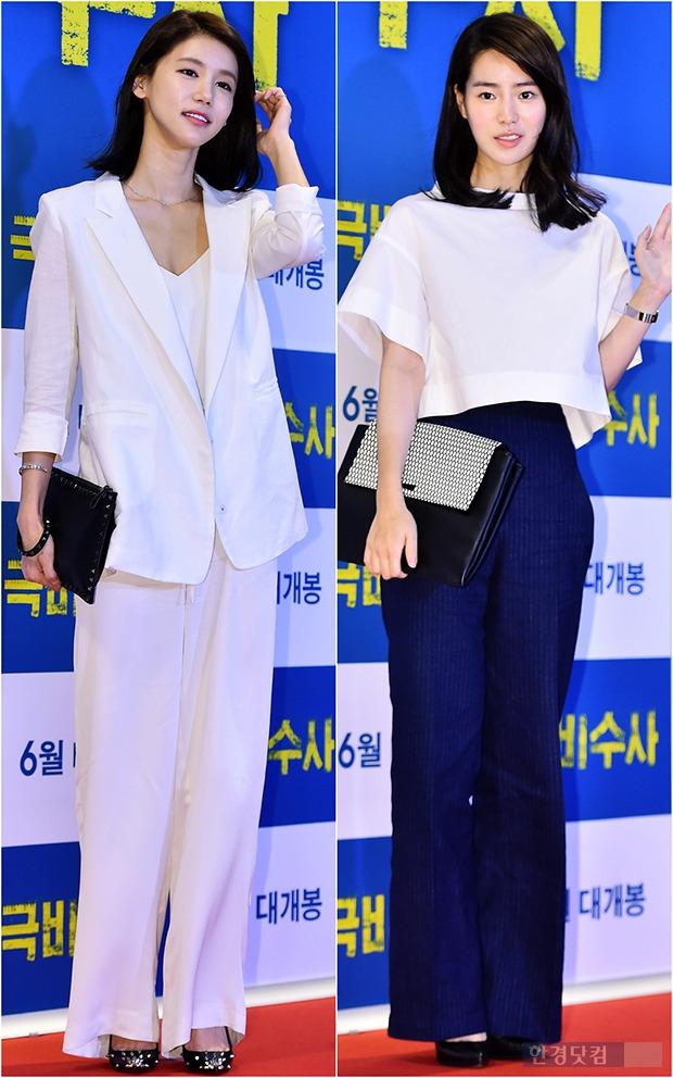 ↑임지연-오인혜, '와이드 팬츠 이렇게 입어봐?'