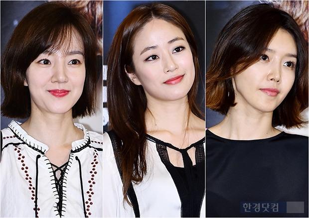 ↑임수정-김효진-채정안, '30대 여배우 세월 무색한 불변의 동안 피부'