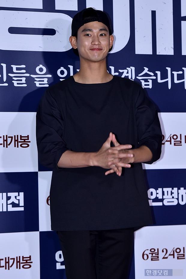↑김수현, '女心 훔치는 영원한 대세남'