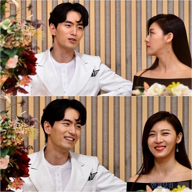 ↑하지원-이진욱, 볼수록 닮은 두 사람 '실제 연인 같은 케미'