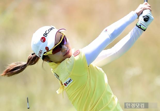 LPGA 최나연, 2R 단독 선두 도약…우승 가능성 높여(사진은 기사와 관계 없음, 한경닷컴 DB)