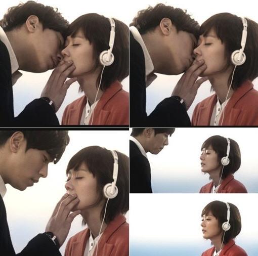 윤현민-장나라 /사진=장나라 '너만 생각나'  뮤직비디오 장면