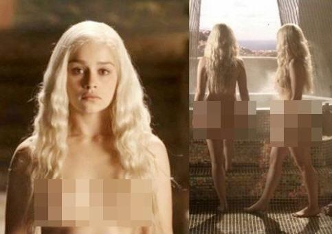 '터미네이터 제니시스' 에밀리아 클라크/사진=HBO 드라마 '왕좌의 게임' 캡처