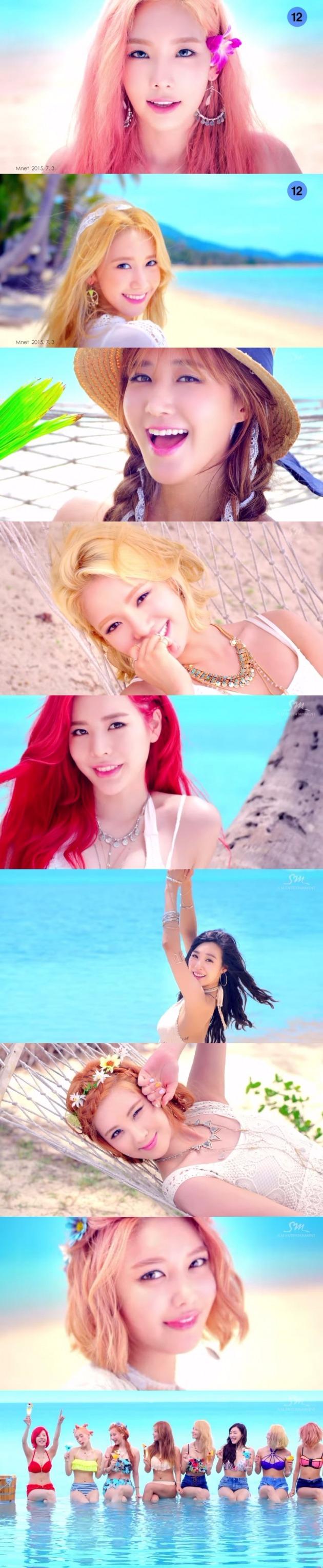 소녀시대 파티 / 소녀시대 파티 사진=소녀시대 티저 캡처