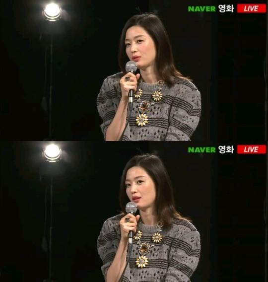 '암살' 전지현 / '암살' 전지현 사진=네이버TV캐스트 라이브톡 영상 캡처
