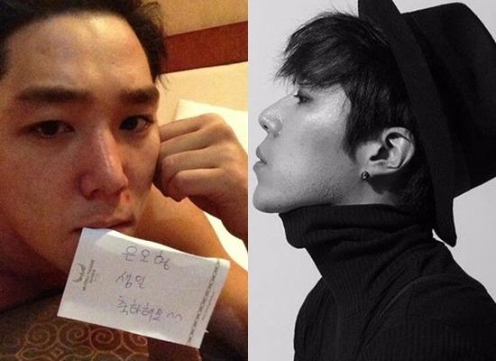 배우 김은호, 알고보니 '슈주' 강인과 친분…자필메모가 '깜짝'(사진=배우 김은오 SNS)