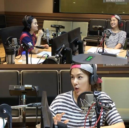 채연 중국활동 채연 중국활동 채연 사진 = MBC FM 4U '정오의 희망곡 김신영입니다'