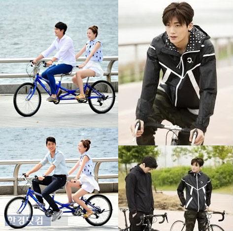 한강 자전거 도로 한강 자전거 도로 /SBS '상류사회'·MBC '오로라 공주' 방송 캡처