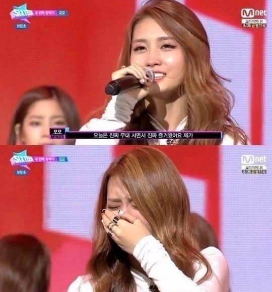 트와이스 JYP 식스틴 모모 / 트와이스 JYP 식스틴 모모 사진=Mnet 방송 캡처