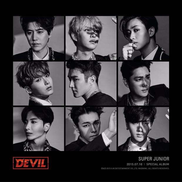 사진 = 슈퍼주니어 신곡 'Devil'