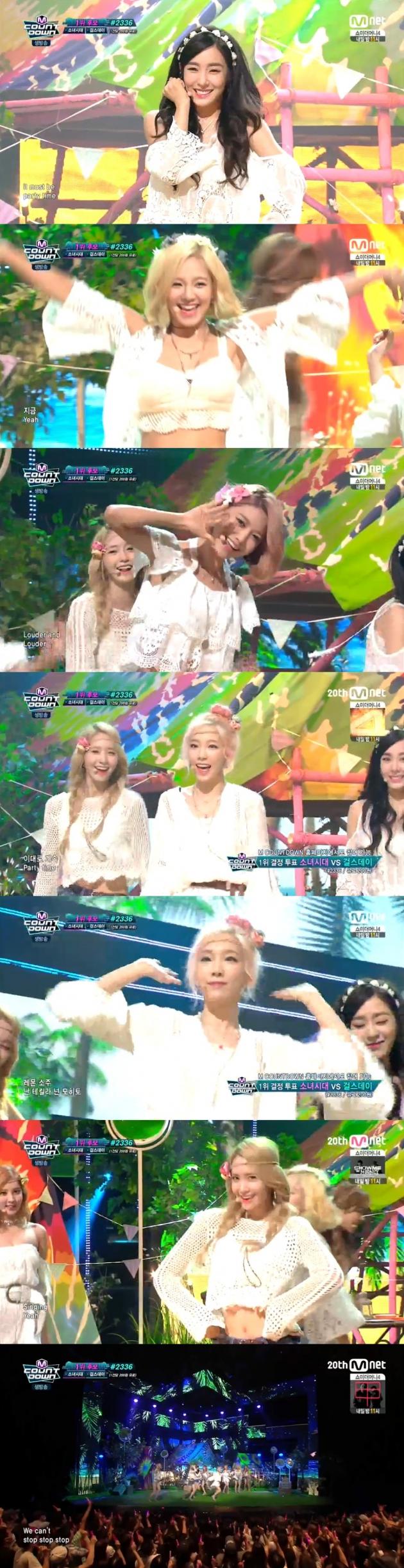 '엠카운트다운' 소녀시대 / '엠카운트다운' 소녀시대 사진=mnet 방송 캡처