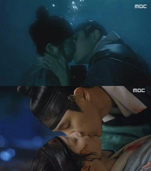 '밤을 걷는 선비' 이준기 이유비 / 사진 = MBC '밤을 걷는 선비' 방송 캡처
