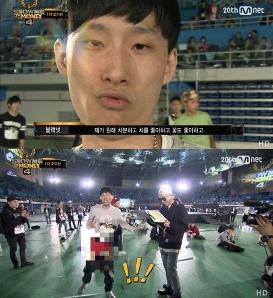 블랙넛 / Mnet '쇼미더머니4' 방송 캡처