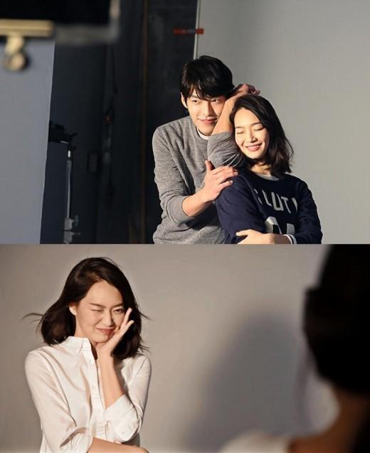 신민아 김우빈 / 신민아 김우빈 사진=지오다노