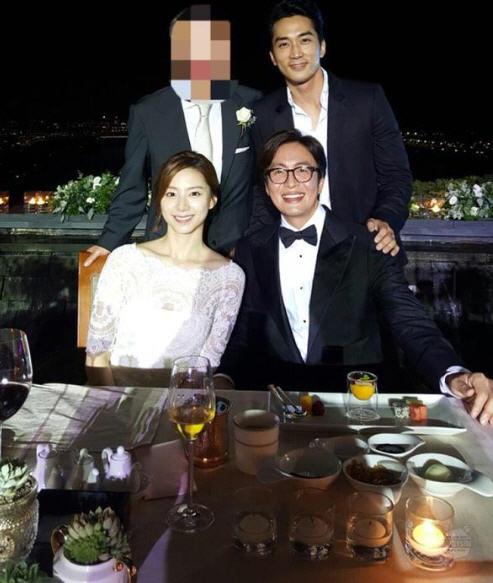 배용준 박수진 결혼 참석 인증샷 /사진= 송승헌 인스타그램