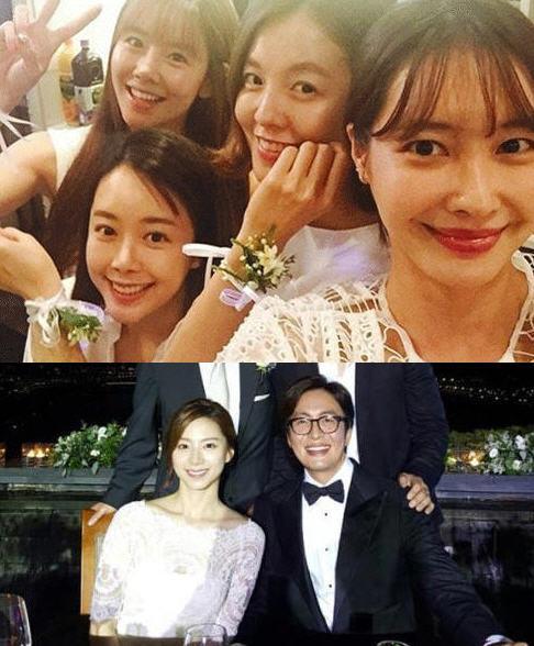 배용준-박수진 결혼식 / 이연두 인스타그램(위) / 송승헌 인스타그램(아래)